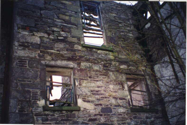 Kincaldrum House in present condition