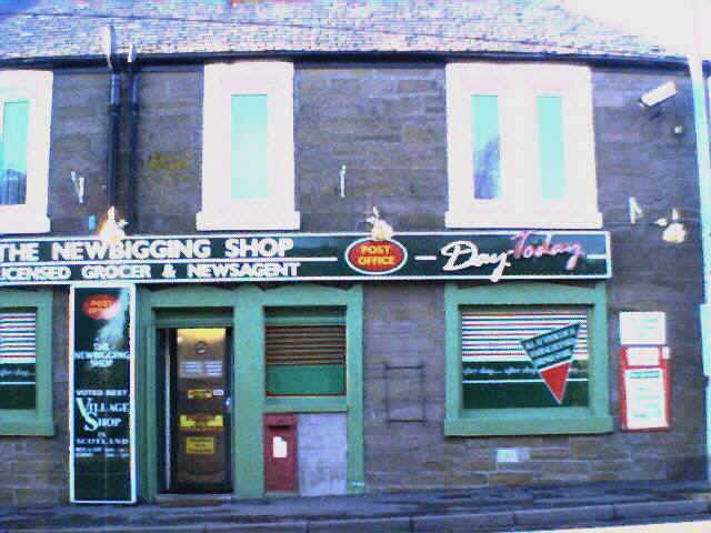 Newbigging Shop and Post Office